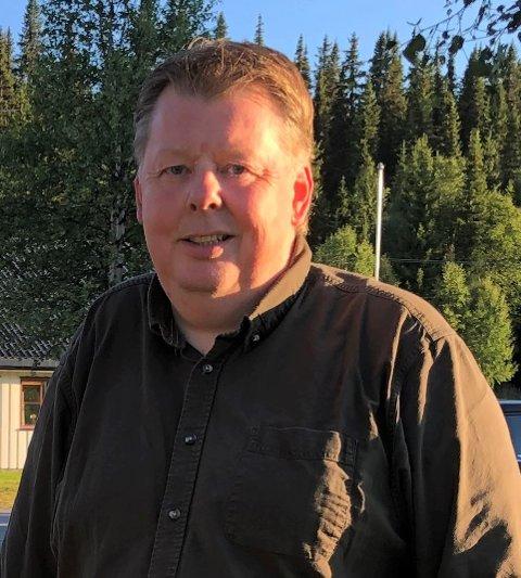 MUSIKKSJEF: Jan Erik Helleren og Korpsnett Norge er i gang med å arrangere fokemusikk fra Valdres for musikkorps.