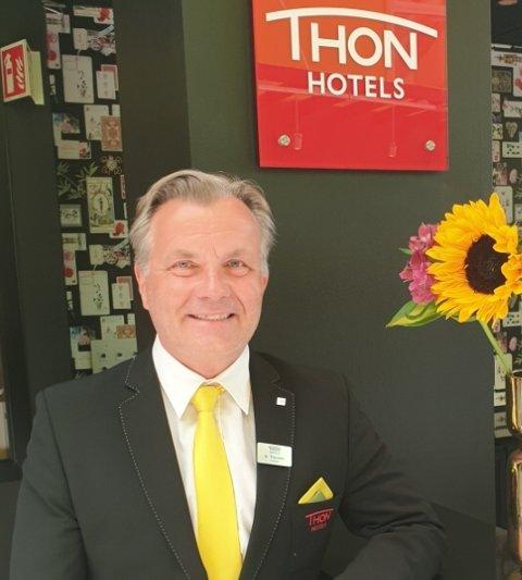Nittedølen Ib Thomsen er ny direktør på Thon Hotels Triaden.