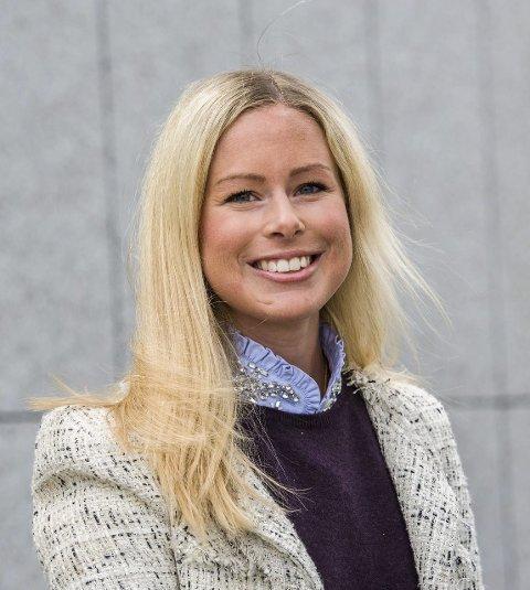 Arving: Victoria Stang Treschow skal bruke Løvås som feriested.