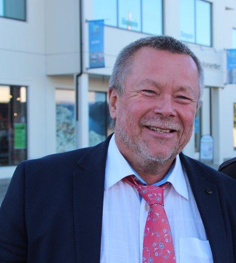 – På fredag farges Jørpeland rosa, sier Kolbjørn Pedersen.