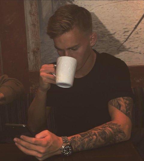 STAS: Conrad Wallem (20) synes det er stas at han har blitt lagt merke til for prestasjonene på FM.
