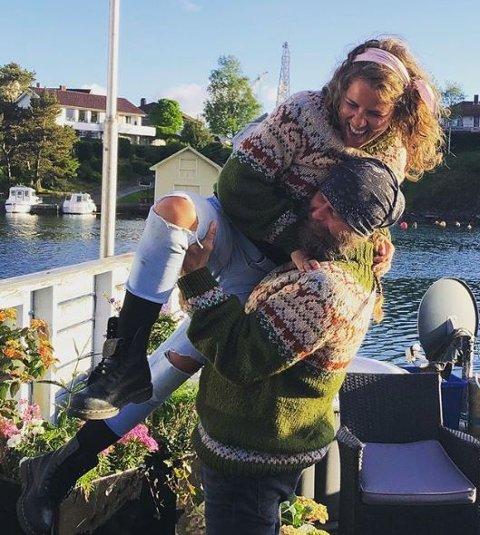 BRYLLUP: : Rette over sommeren blir reality-profilene Eunike Hoksrød og Frank Tore Aniksdal et ektepar.
