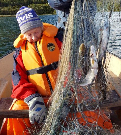 Eldrid Holen har fiska i ein mannsalder.