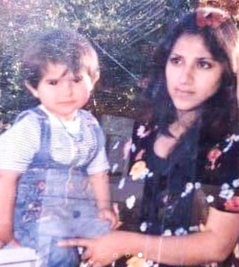 FØRSTE SOMMER I NORGE: Sonia og moren Halala, som er gravid med Soma.