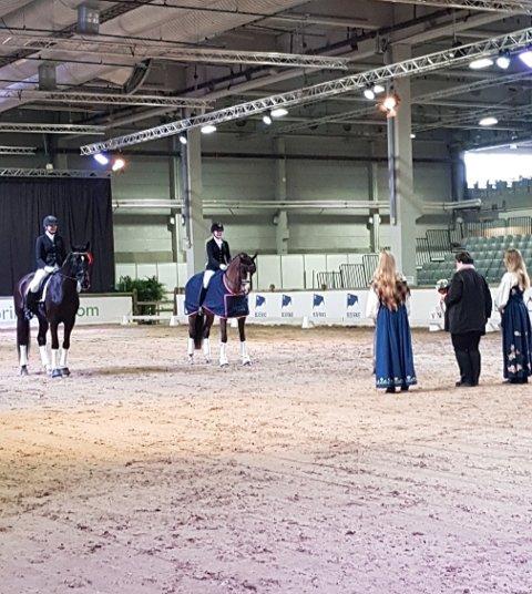PRESTERTE: Pernille Høistad vant MB dressur. (Foto: privat)