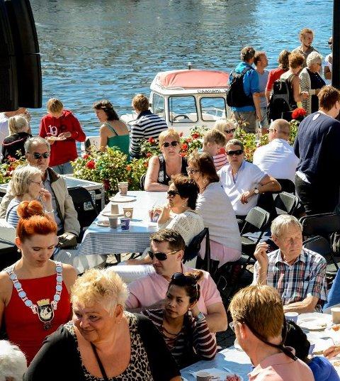 Bursdag: Feiringen av Kragerøs bursdag samler mye folk i juli måned. Arkivfoto