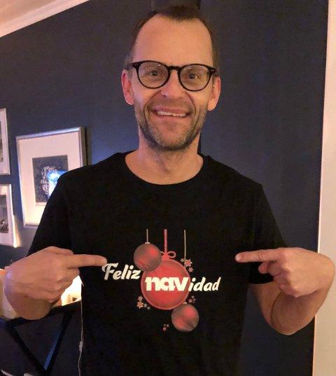 TILBAKE I NA: Etter et et kort opphold i Nav, er NA-journalist Mats Ivar Sandmo tilbake i NA igjen.