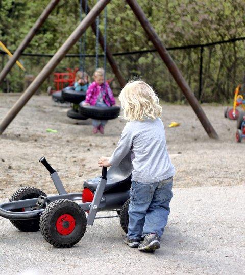 Nytt år: Barnehageåret startet på Nesodden denne uka. arkiv