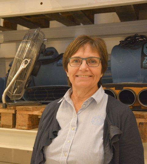 – Jeg skulle gjerne hatt det nå med en gang, men forsikringsarbeid og bygging vil jo ta noe tid, forteller Anne Hudalen i Resolve.