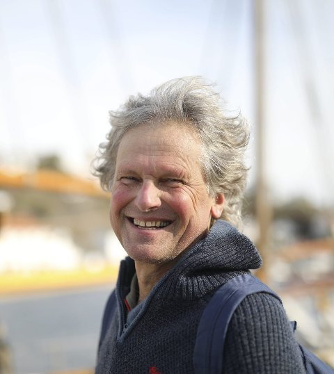 Tar seg god tid: Det er over 20 år siden Knut Henning Thygesen sist ga ut bok, da med «Skanser» som var satt i Risør. I år kommer han med sin andre roman.Foto: Arkiv