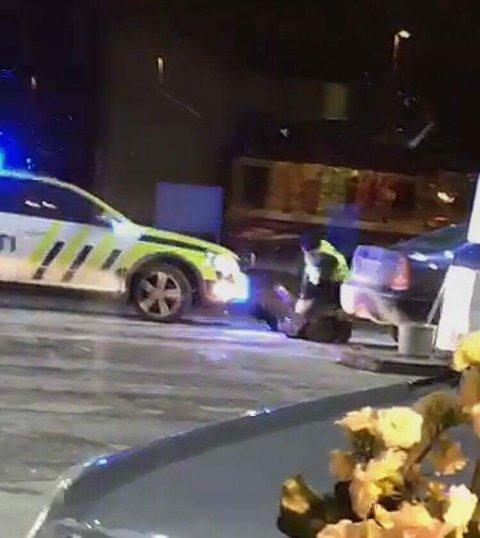 STILLBILDE: Stillbilde fra videoen som ble tatt av en av Hadelands lesere.