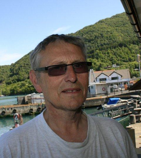 Godt marked: Trond Rune Tungesvik mener at hytta er blitt et samlingspunkt i familien. Arkivfoto: Sigmund Hansen