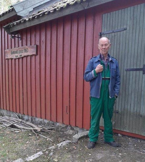 Dagens ildsjel: Terje Løken, Rygge Museum og Historielag.