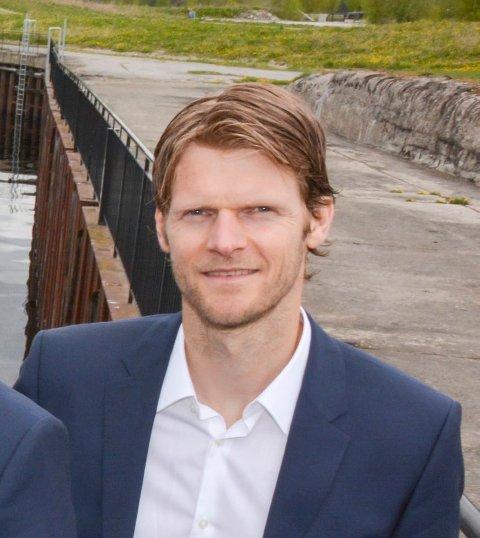 BOR I HOUSTON: Thor Arne Løvland leder lokalkontoret til notoddenfirmaet Optime Subsea Services i Houston.