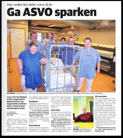 FAKSIMILE: Bygdeposten 30. mai 2015.