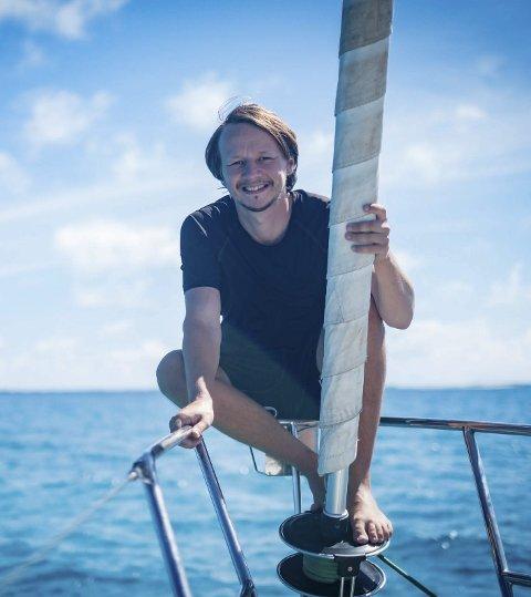Harald Grande skal snart på ny segltur.
