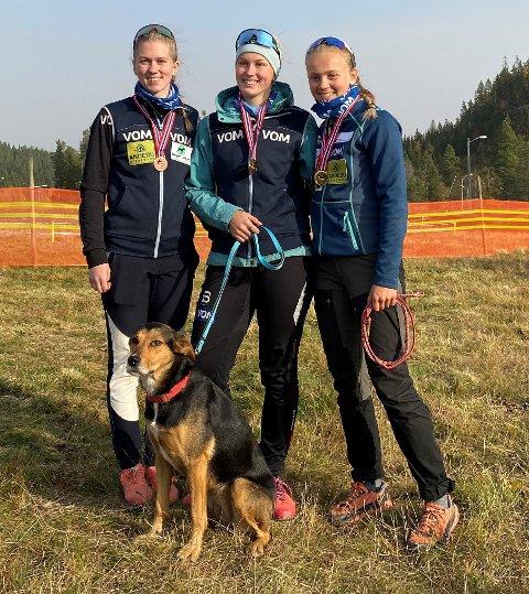 ALT FOR SPORTEN: Ronja, (til venstre) Ylva og Maren Leegaard har tidligere vunnet mye edelt metall i både NM og i internasjonale konkurranser. Til helgen skal de konkurrere på hjemmebane.