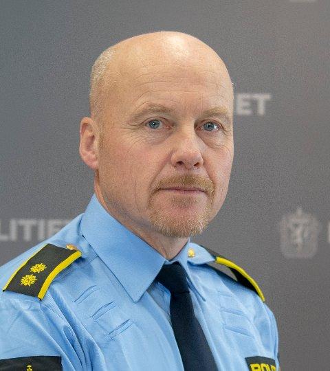 ADVARER: – Dette er veldig spesielt, og helt nytt for oss, sier operasjonsleder i Sørøst politidistrikt Trond Egil Groth om svindelforsøket.
