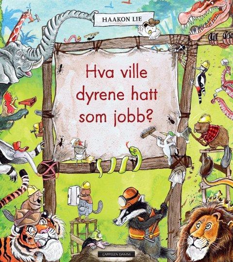 Forsiden: Slkik så bokfronten ut da den kom i 2013. Tegning: Haakon Lie
