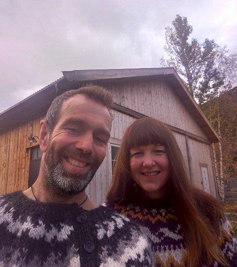 Mathias Snerle og Mari Tolstad Snerle.