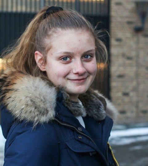 Har vært med: Caroline Moholdt har vært med på UKM tidligere.