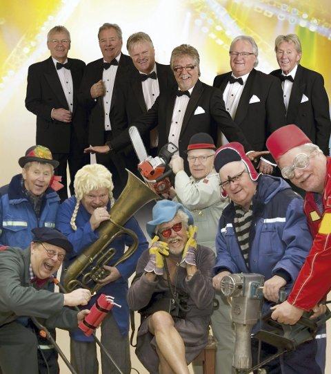 SHOWKONSERT: Gjengen i Ole Ivars spiller sitt show med gamle og nye låter, og masse humoristiske innslag, i Milepelen tirsdag 14. mars.
