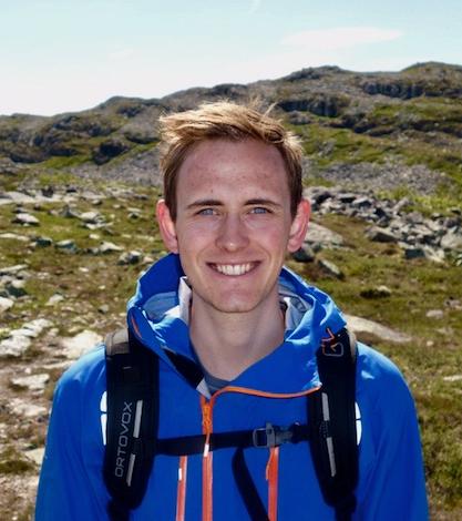 BEST. Jan-Arthur Skartland Svendsbøe hadde høyest gjennomsnittskarakter av alle på studieprogrammet sitt.