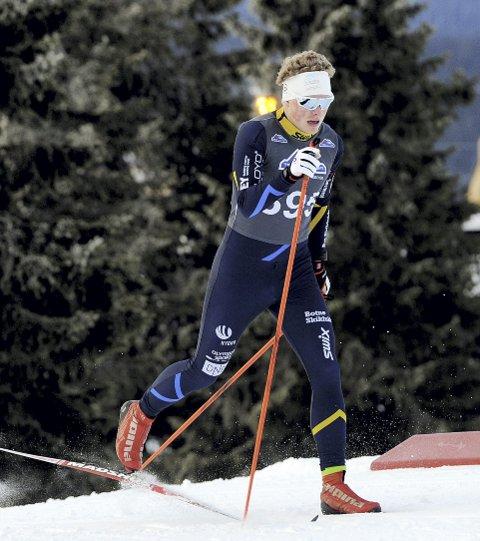 MISTET NM-SPRINTEN: Kristian Glasius Hegg er syk, og han mistet juniorenes NM-sprint i Holmen-kollen. Det store målet i vinter. Nå håper han å bli frisk til resten av NM. Foto: Svein Halvor Moe
