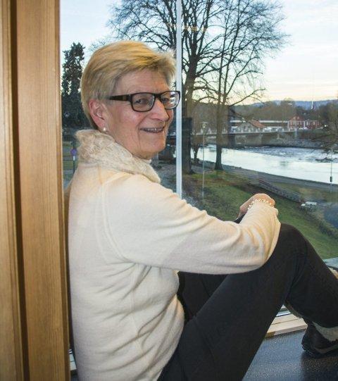 SLUTTER: Rektor Kirsten Bøckman ved Kongsberg videregående skole har fått ny jobb. Nå er ny rektor tilsatt.