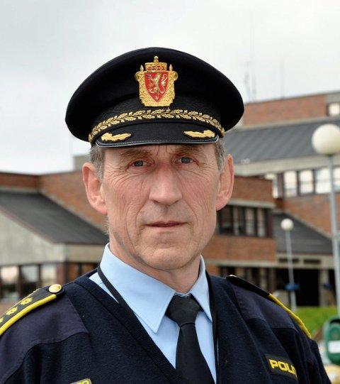 INNBRUDD: Lensmann Asbjørn Sjølie forteller at det er kommet inn en rekke meldinger om innbrudd i løpet av helga.
