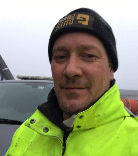 Ronny Eriksen venter på å komme i gang som Stenlegger i regionen.