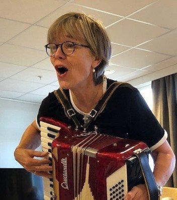 Gyda Hesla, frivillig, Moss. Ildsjelkalenderen 2020.