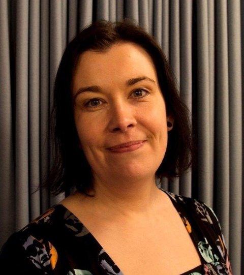 STOPP: Sylvi Dybvik i Kvinnegruppa Ottar var blant arrangørene av motdemonstrasjonen.