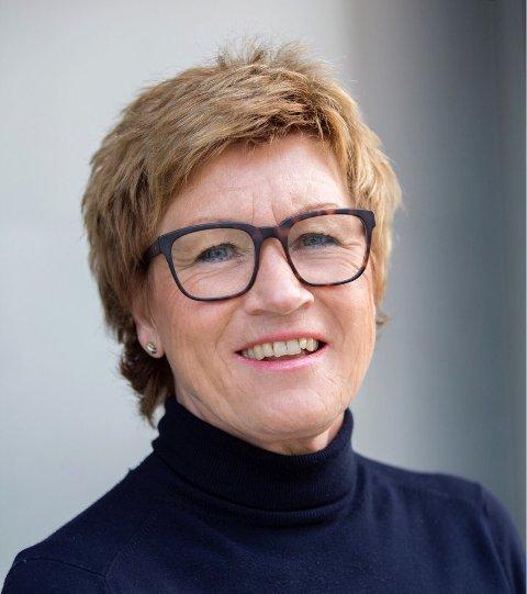 ADMINISTRERER: Leder Elisabeth Teien i Sandefjord Byen Vår AS.