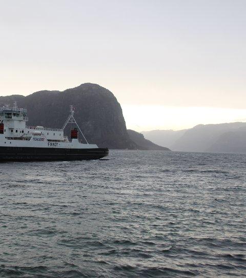 Når Ryfast har opna skal det gå privatferje på Høgsfjorden. Det ligg an til at Boreal Sjø skal driva denne med avgang kvar halvtime heile døgnet.