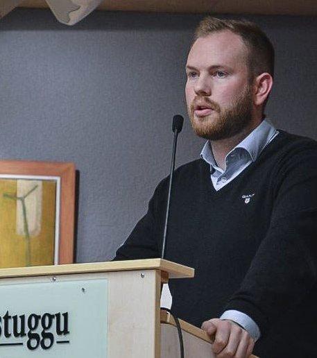 Ordfører i Røros, Isak V. Busch.