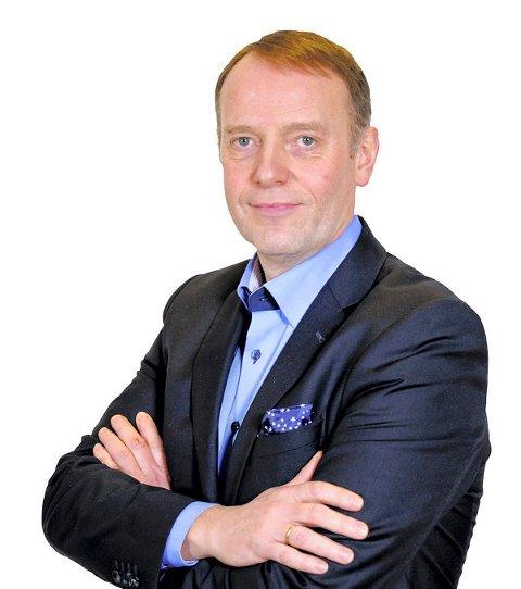 Jan-Eirik Hanssen, sjefredaktør i Avisa Nordland