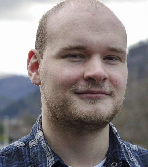 Thor Mehammer er leiar i Førde Ap.