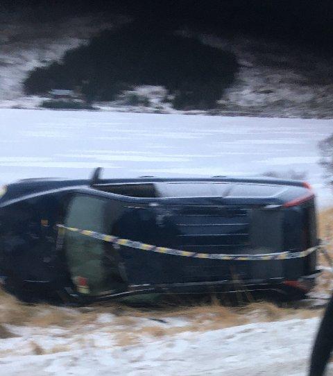 VELTET: Utforkjøringen skjedde onsdag kveld.