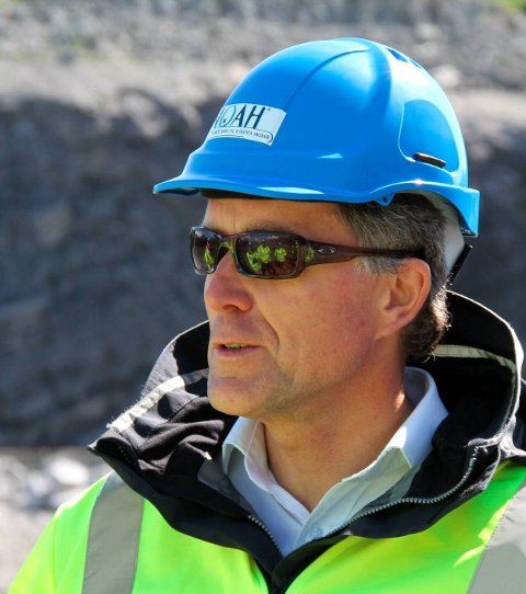 NOAH-sjef: Carl Hartmann har sin siste arbeidsdag som NOAH-sjef i dag 30. april.