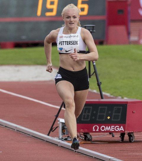 I GANG: Allerede i dag skal Marte Pettersen i aksjon i NM.