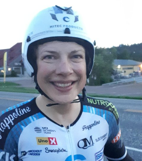 NY REKORD: Vita Heina satte ny norgesrekord på Bispeveien.