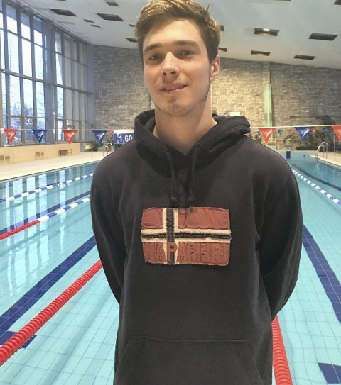 PIOTR JUNIOR: Piotr Matheus Ludwizak junior er landslagssvømmer i Polen, men konkurrerer for KSV.