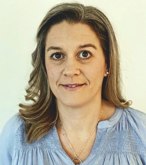 40-åringen Maria Fast Fjell ser lyst på livet, pandemien til tross. FOTO: PRIVAT