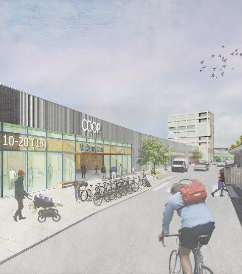 COOP: Coop ønsker å bygge på Prestegårdsjordet i Alta.