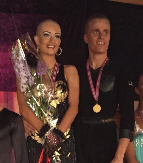 NM-gull: Kine Marie Mardal og Petter Andreas Engan.