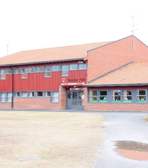 Legges ned: Haugtun skole i Blaker.