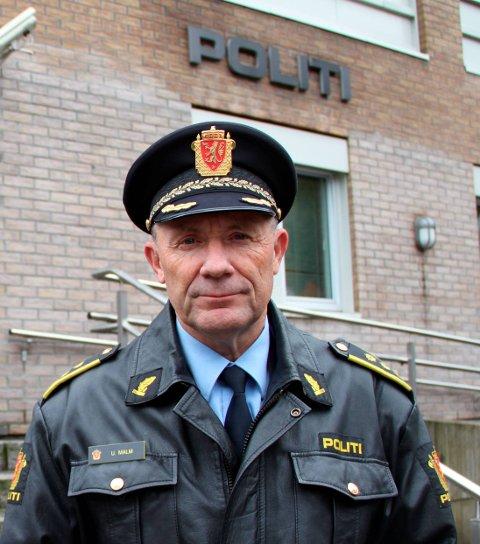 Har varslet: Ulf Malm og politiet har blitt varslet om saken fra Holmestrand kommune.