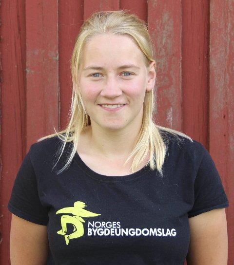 Styreleder: I Norges Bygdeungdomslag, Inger Johanne Brandsrud vil at ungdommer skal bli hørt. Foto: Privat