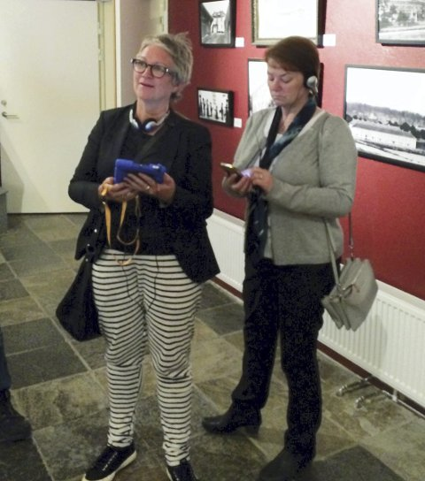 SPONSOR: Sissel Karlsen og Bjørg Ormestad Rasmussen fra Sparebankstiftelsen DNB.